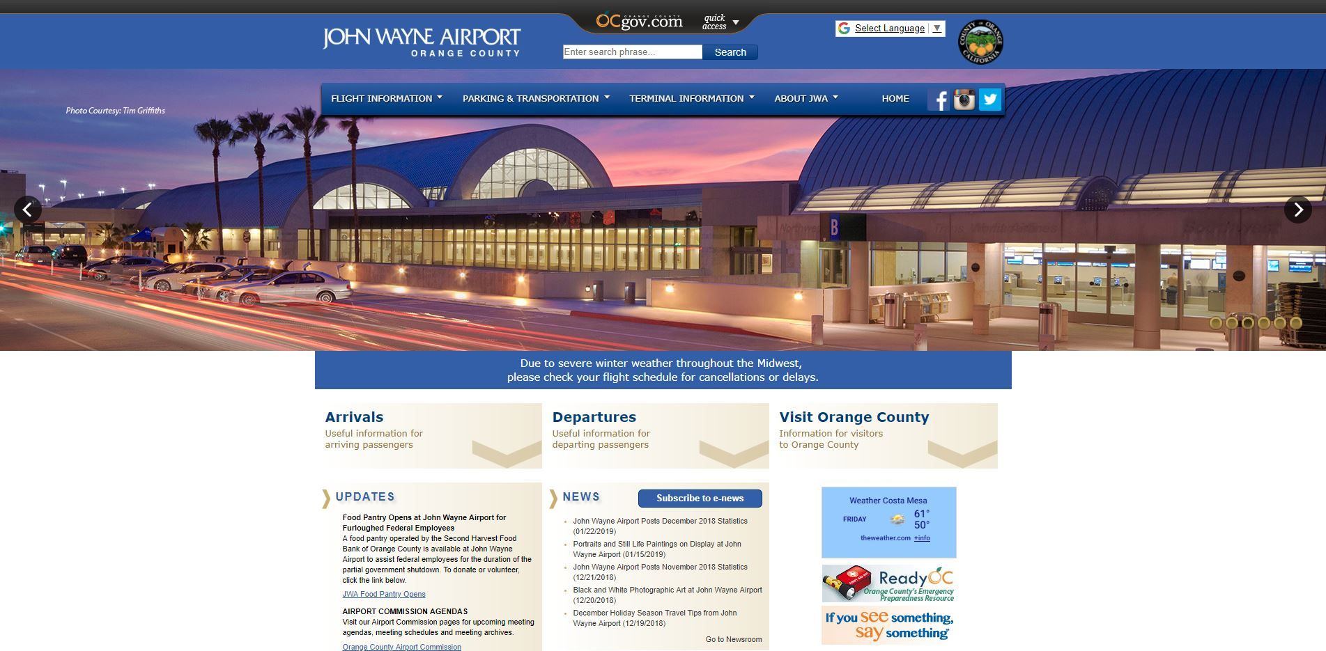 Airport Web Design Serices