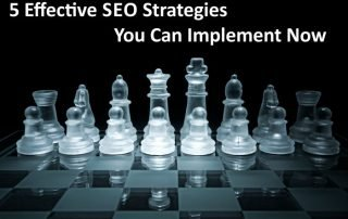 5 Effective SEO Strategies You Can Implement Now 1