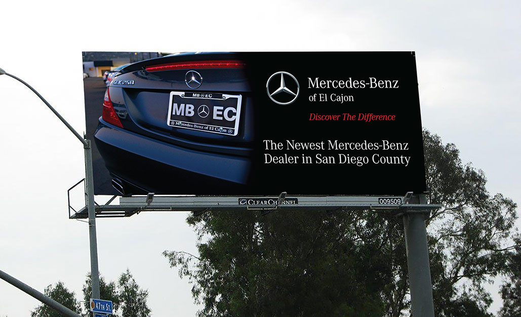 Billboard / Mercedes Benz - El Cajon