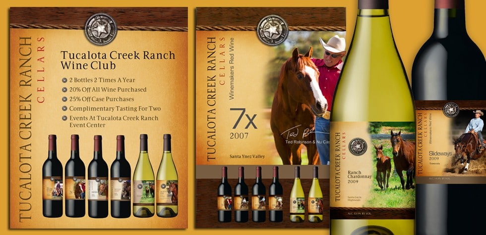 POP  &  Packaging / Tucalota Creek Winery