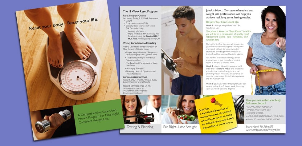Consumer Informational Brochure / CMB Labs