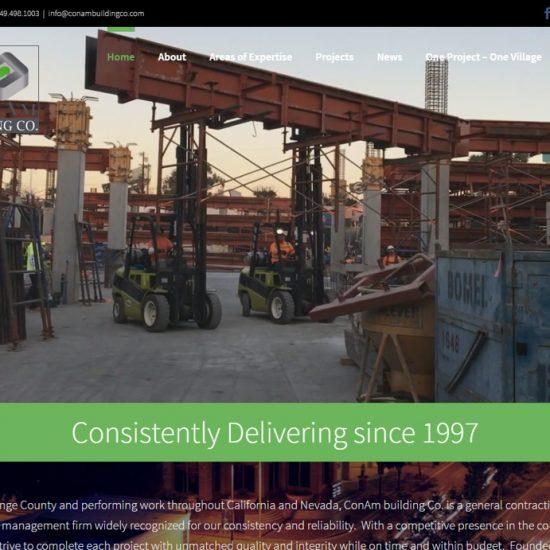 Custom WordPress Theme Web Design