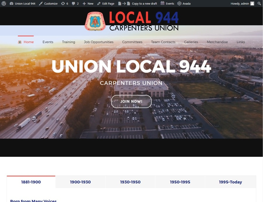 Union Wed Design Services
