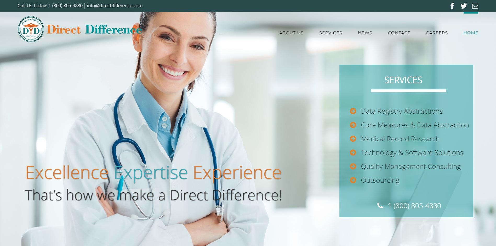 medical web design irvine