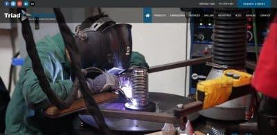 Manufacturing Web Design Irvine