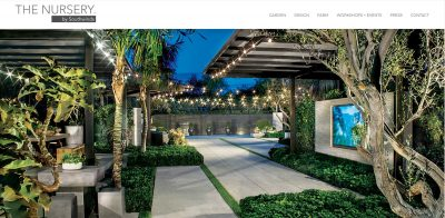 Ourdoor Nursery Website Design Orange County