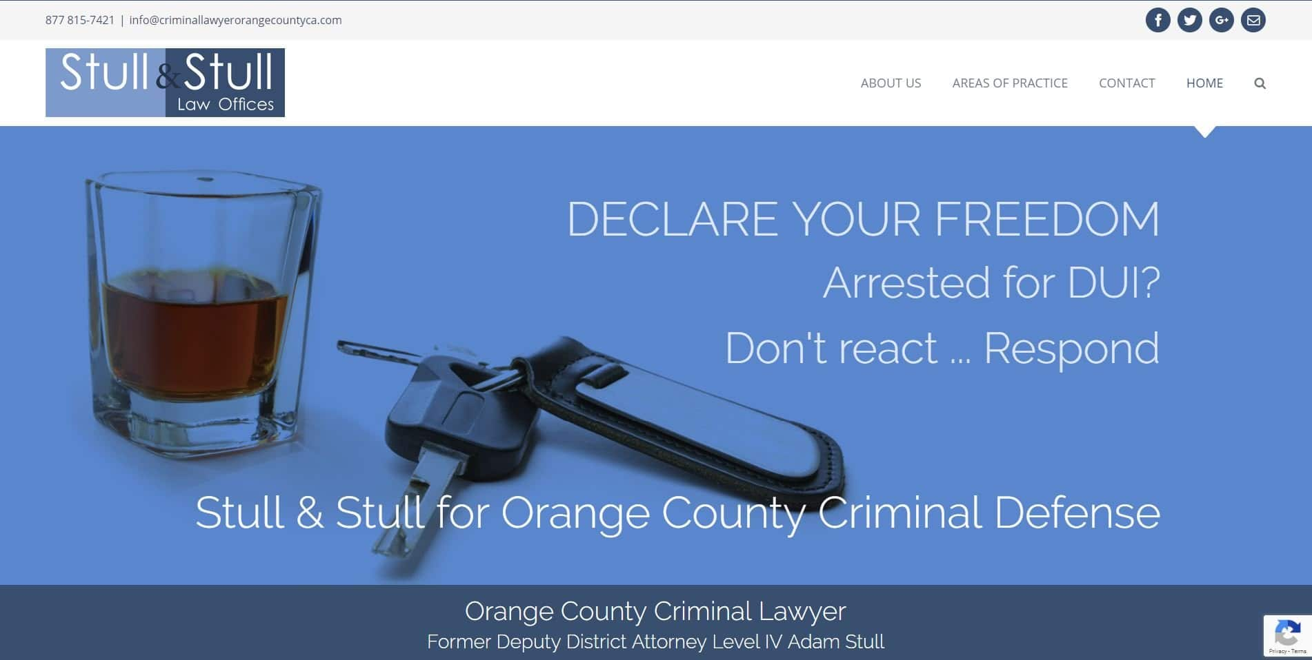 lawyer attorney web design irvine