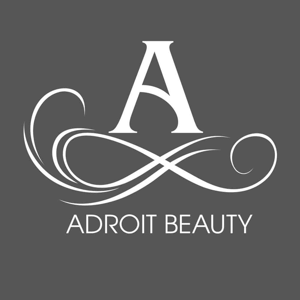 adroit beauty logo design orange county
