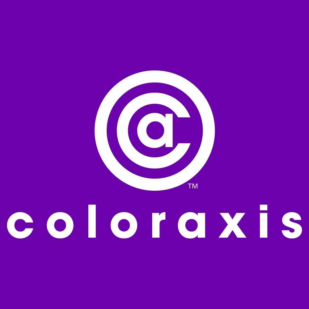 coloraxis logo design orange county