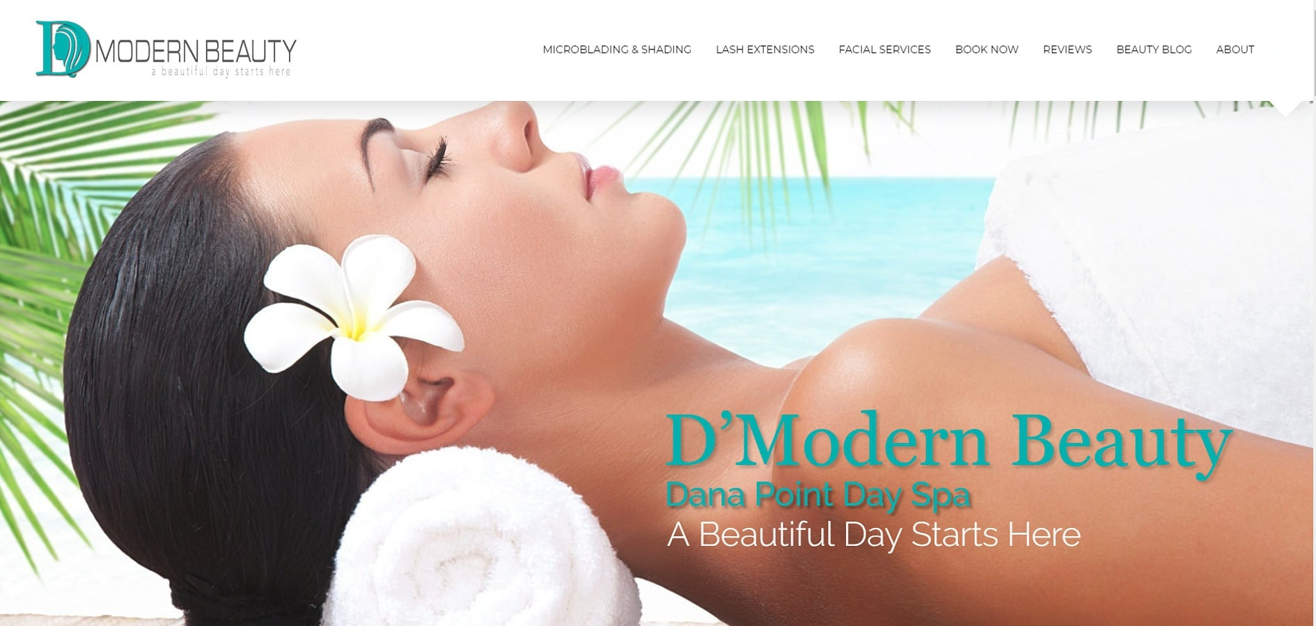 day spa web design orange county ca