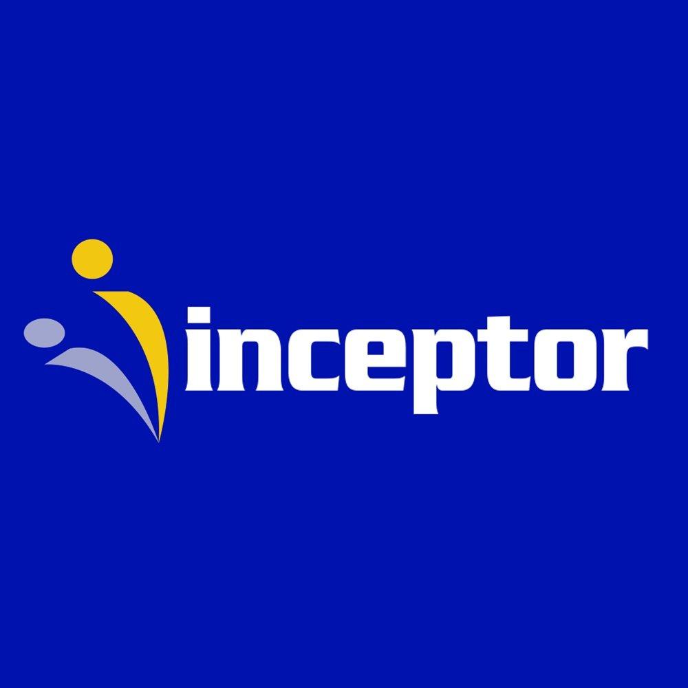 inceptor logo design newport beach
