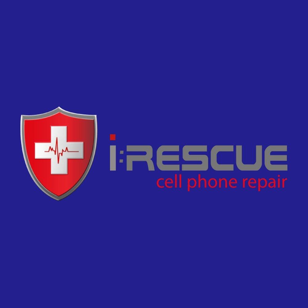irescue logo design newport beach