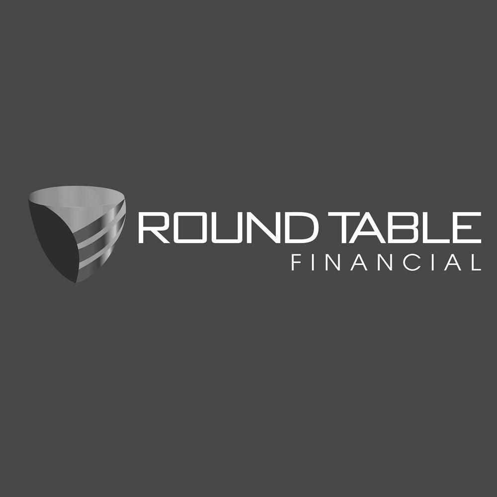 round table financial logo design newport beach